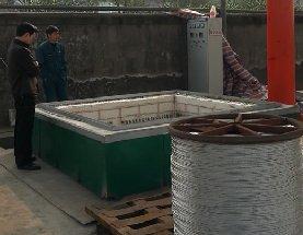 方井式铝丝线缆退火炉